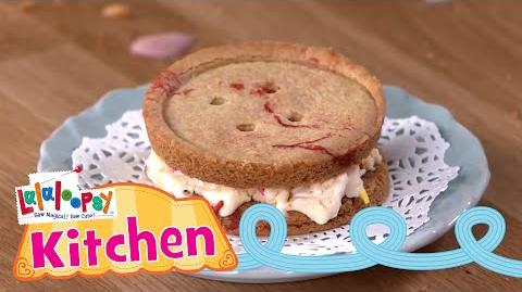 Lalaloopsy Kitchen Lala Button Ice Cream Sandwiches Recipe Episode 1 Lalaloopsy