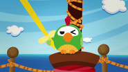 S2 E12 Parrot with baloon sword