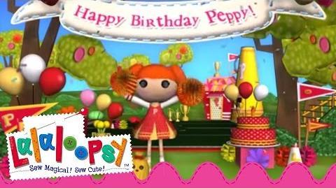 Peppy Pom Pom's Birthday Lalaloopsy