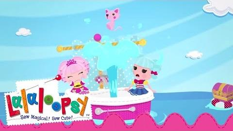 Summer Sailing with Marina and Jewel Lalaloopsy