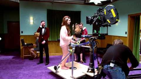 On set with Lana Del Rey - H&M Life-0