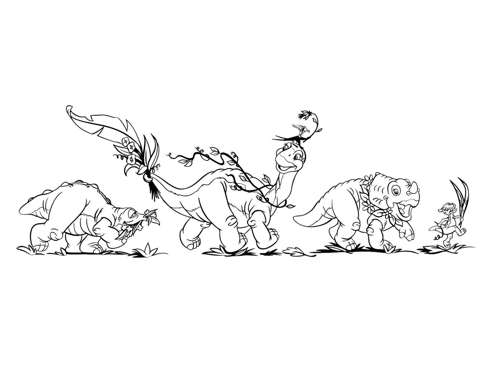 Coloring Pages The Land Before Time Coloring Pages image coloring page 4 movie 5 png land before time wiki filecoloring png