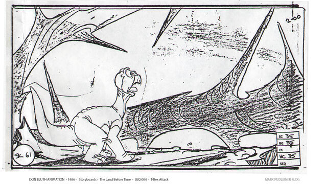 File:Don Bluth Storyboards Land Before Time 061.jpg