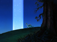 Littlefoot & Light Pillar