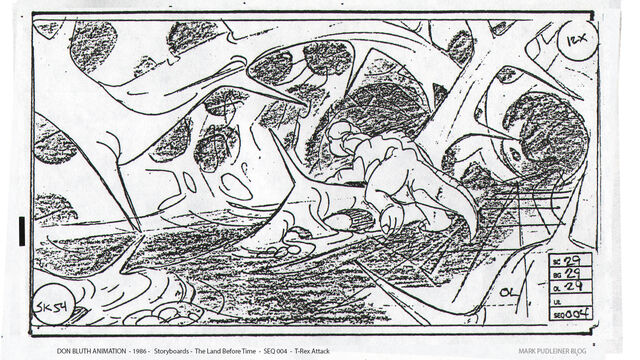 File:Don Bluth Storyboards Land Before Time 054.jpg