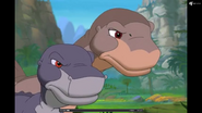 Angry Chomper and Littlefoot