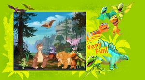 File:Dinosaur train and tlbt wallpaper by digiponythedigimon-d66fey8.jpg