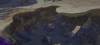 Landmark Cave Mouth Desert