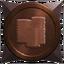 Treasure bronze trophy