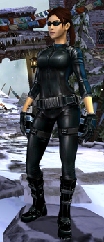 Relic Run Outfit Stealth Suit