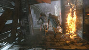 Lara and Jacob flee Trinity
