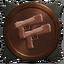 Pistols bronze trophy
