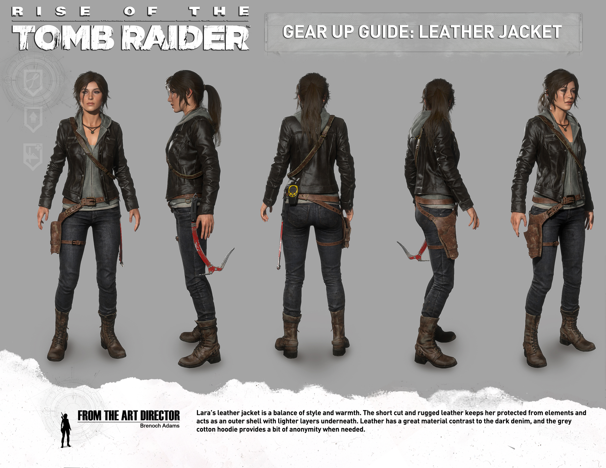 Leather jacket png - Image Rottr Leather Jacket Png Lara Croft Wiki Fandom Powered By Wikia