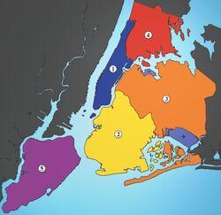 New York City Boroughs
