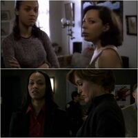 L&O- Zoe Saldana guest-starring on Law & Order and SVU both