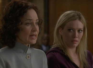 Annie Potts on law and order