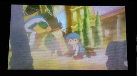 Professor Layton and the Miracle Mask Cutscene 2 (US Version)