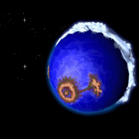 Twinsun, seen from the north hemisphere