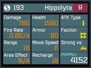 Hippolyta R Lv1 Back