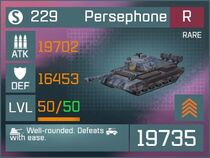 Persephone R Lv50 Front