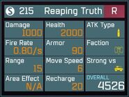 Reaping Truth R Lv1 Back
