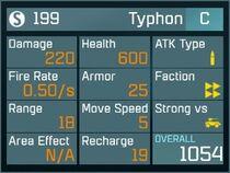 Typhon C Lv1 Back