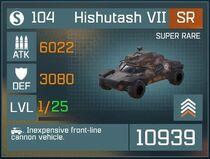 Hishutash VII SR Lv1 Front