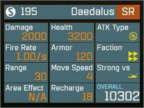 Daedalus SR Lv1 Back