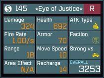 Eye of Justice R Lv1 Back
