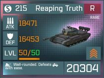 Reaping Truth R Lv50 Front