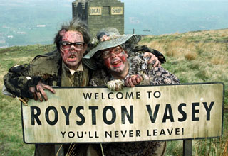 Image result for royston vasey you'll never leave