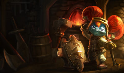 Poppy BlacksmithSkin old