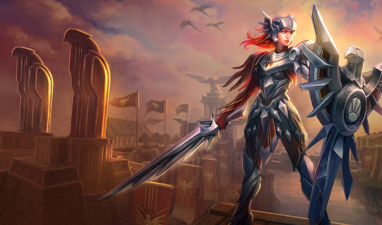 League of legends leona skins