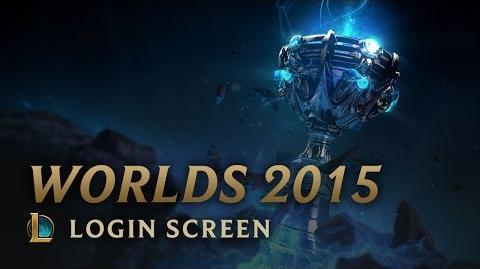 World Championship 2015 - Login Screen
