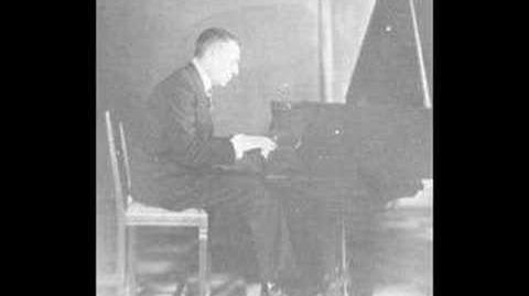 Rachmaninoff plays Liszt Hungarian Rhapsody No