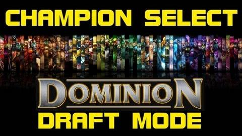 Dominion Draft Mode - Champion Select Music