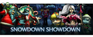 2009 Snowdown Showdown Banner