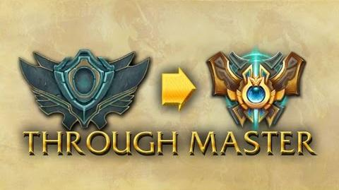 LoL Animations - Promotion from Unranked to Challenger through Master
