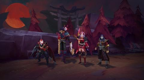 The Hunt of the Blood Moon Blood Moon 2017 Trailer - League of Legends