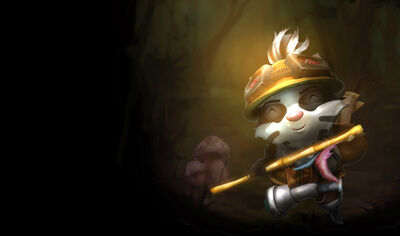 Teemo BadgerSkin old