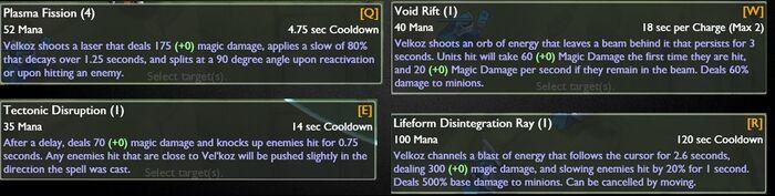 Emptylord Vel'Koz LeakedAbilities