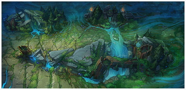 Summoner's Rift Update Theme Quadrant