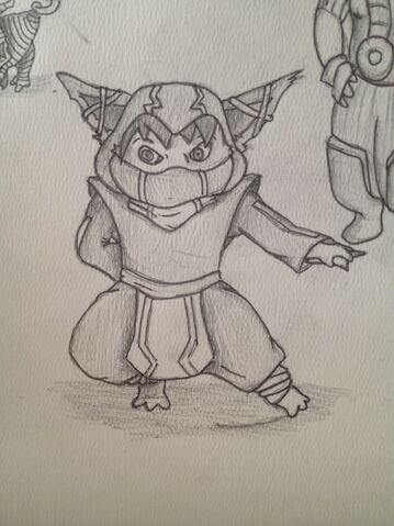File:Emptylord Kennen Sketch.jpg