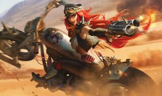 Miss Fortune RoadWarriorSkin