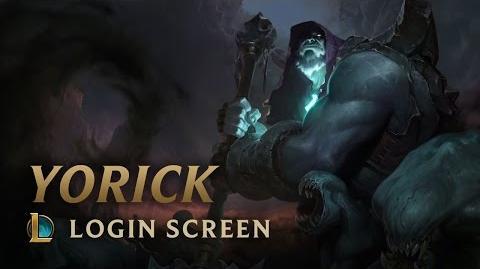 Yorick, Shepherd of Souls - Login Screen