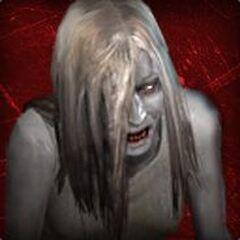 El avatar de la Witch en blog del Left 4 Dead.