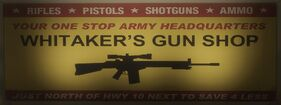 Whitakers gun shop