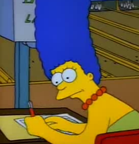 File:Margesimpsonlefthanded.PNG