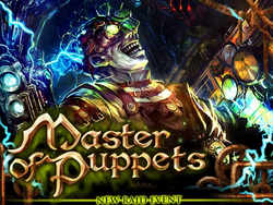 Master of Puppets banner