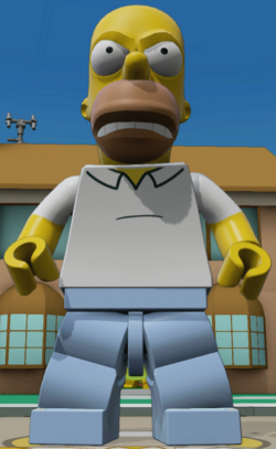 Angry Homer HD